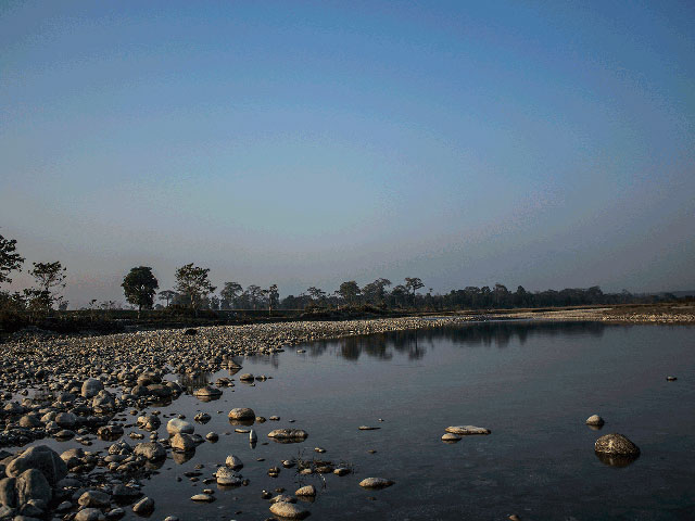 Murti river bed