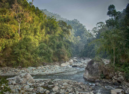 shivkhola adventure camp near river